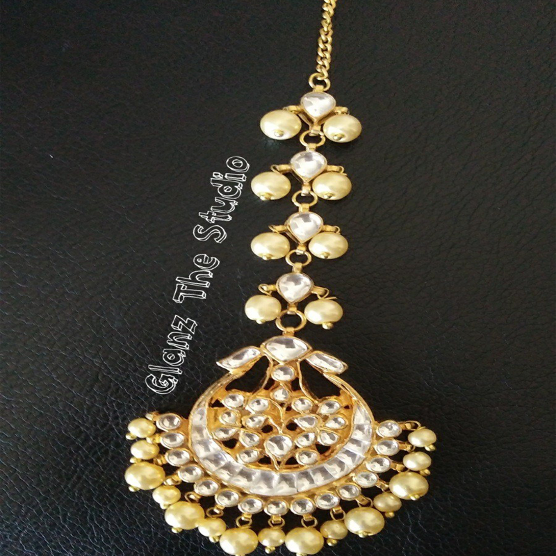 Kundan Maang Tikka Gold Plated With Latest Designs At Best