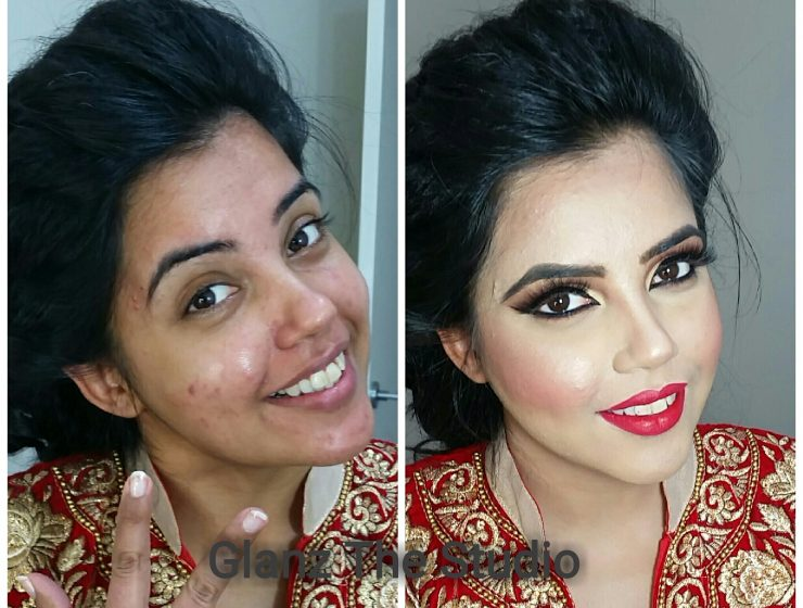 Power Of Makeup Makeup After & before